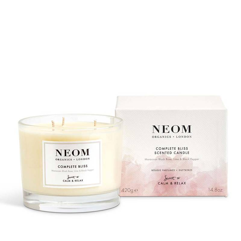 Neom Complete Bliss™ Bougie Parfumée (3Mèches)420g