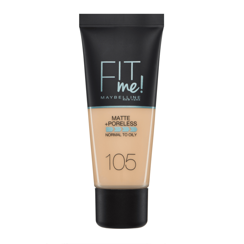 Maybelline New York Fit Me! Matte + Poreless Fond de Teint Fluide 30ml