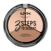 NYX Professional Makeup 3 Steps to Sculpt Face Sculpting Palette 15g
