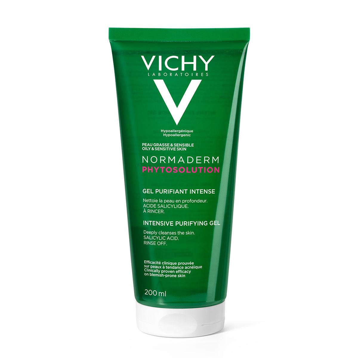 Vichy Normaderm Intensive Purifying Cleansing Gel 200ml | Feelunique UK