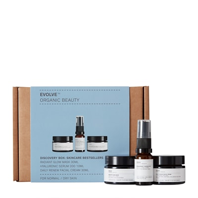 Evolve Beauty Coffret Get Up And Glow Collection