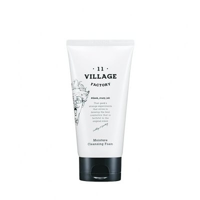 Village 11 Factory Real Fit Moisture Cleansing Foam 150ml
