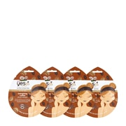 Yes To Coconut Energizing Coffee Mud Mask 4 Pack