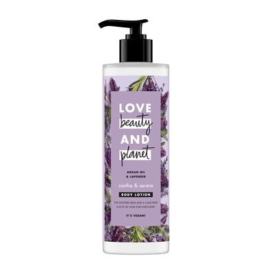 Love Beauty and Planet Soothe and Serene Body Lotion 400ml
