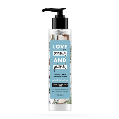 Love Beauty and Planet Refresh & Hydrate Face Cleansing Gel 125ml
