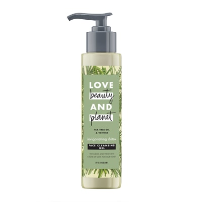 Love Beauty and Planet Invigorating Detox Face Cleansing Gel 125ml