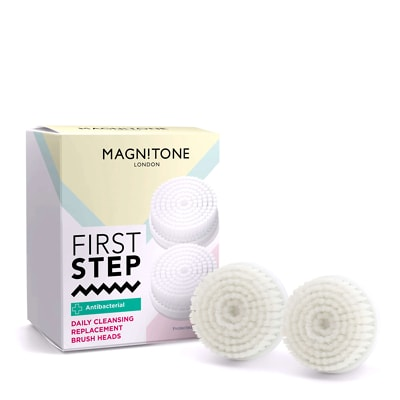 Magnitone First Step Replacement Brush Head 2-pack