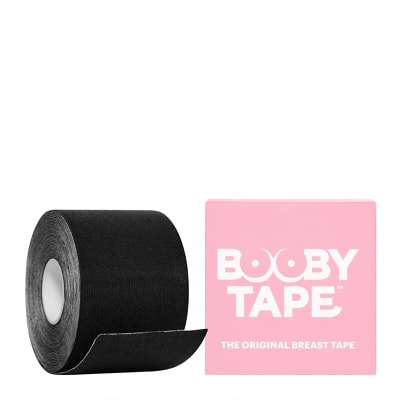 Booby Tape Black 5m Roll
