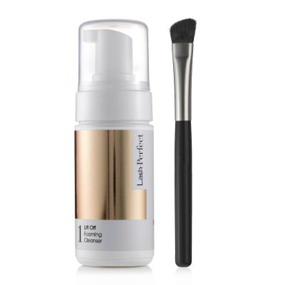 Lash Perfect Lift Off Foaming Cleanser & Cleansing Brush 60 ml