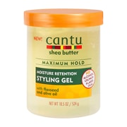 Cantu Shea Butter Maximum Hold Moisture Retention Styling Gel with Flaxseed and Olive Oil 524g