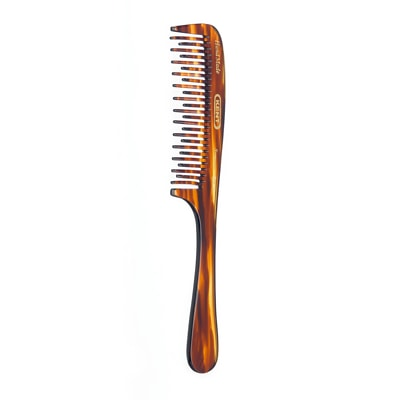 Kent Curved Double Row Detangling Comb 200mm - A21T