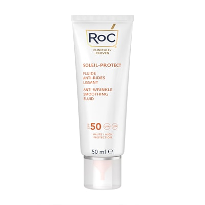 RoC Soleil-Protect Anti-Wrinkle Smoothing Fluid SPF50+ 50ml