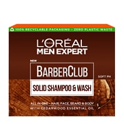 L'Oréal Paris Men Expert Barber Club Solid Shampoo and Wash Bar 80g