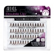 Ardell Duralash Double Up Individuals Knot Free Lashes - Long Brown