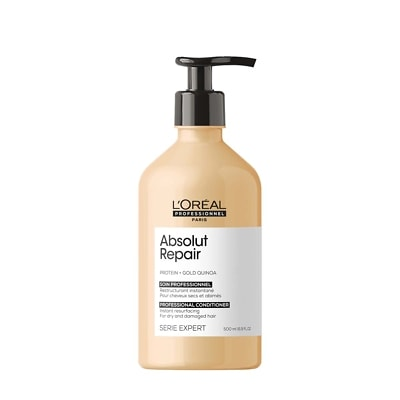 L'Oréal Professionnel Serie Expert Absolut Repair Conditioner With Protein and Gold Quinoa 500ml