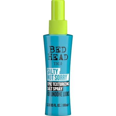 Bed Head by TIGI Salty Not Sorry Texturising Salt Spray for Natural Undone Hairstyles 100ml