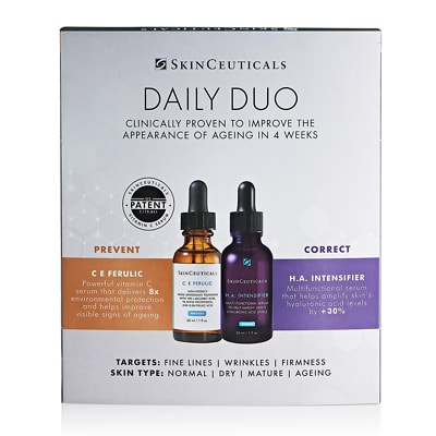 SkinCeuticals Daily Duo [C E Ferulic + H.A. Intensifier] for Normal, Dry and Mature Skin 60ml