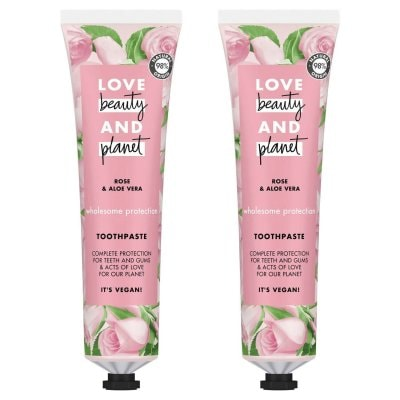 Love Beauty & Planet Wholesome Protection Toothpaste 2 x 75ml
