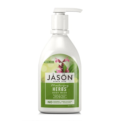 JASON Pure Natural Gel Douche Herbes Hydratantes 887ml