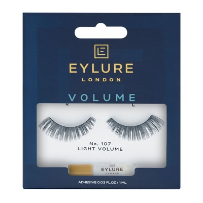 Eylure Naturalite Strip Eyelashes Faux Cils No. 107 (Tenue de Soirée)