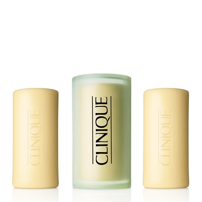 Clinique 3 Little Soaps Mild with Travel Dish 3 x 50g