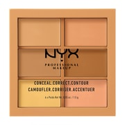NYX Professional Makeup Conceal, Correct, Contour Palette Correctrice 1,5g